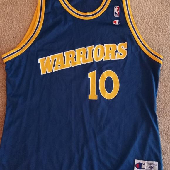 promo code c2ee1 b6f55 Tim Hardaway, Golden State Warriors jersey